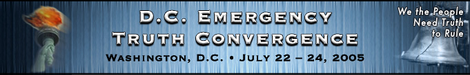 DC Emergency Truth Conference