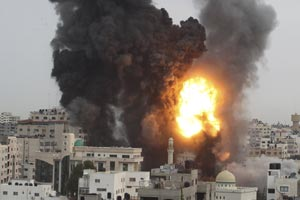 Gaza Attack 2012