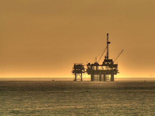 Off Shore Oil Drilling Rig