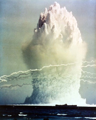 Pacific Nuke Weapon Test