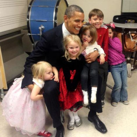 Obama and Parker Family