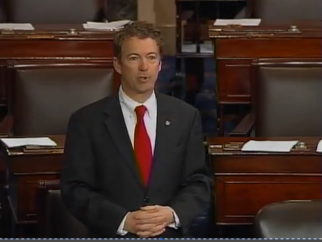 Rand Paul Drone Filibuster