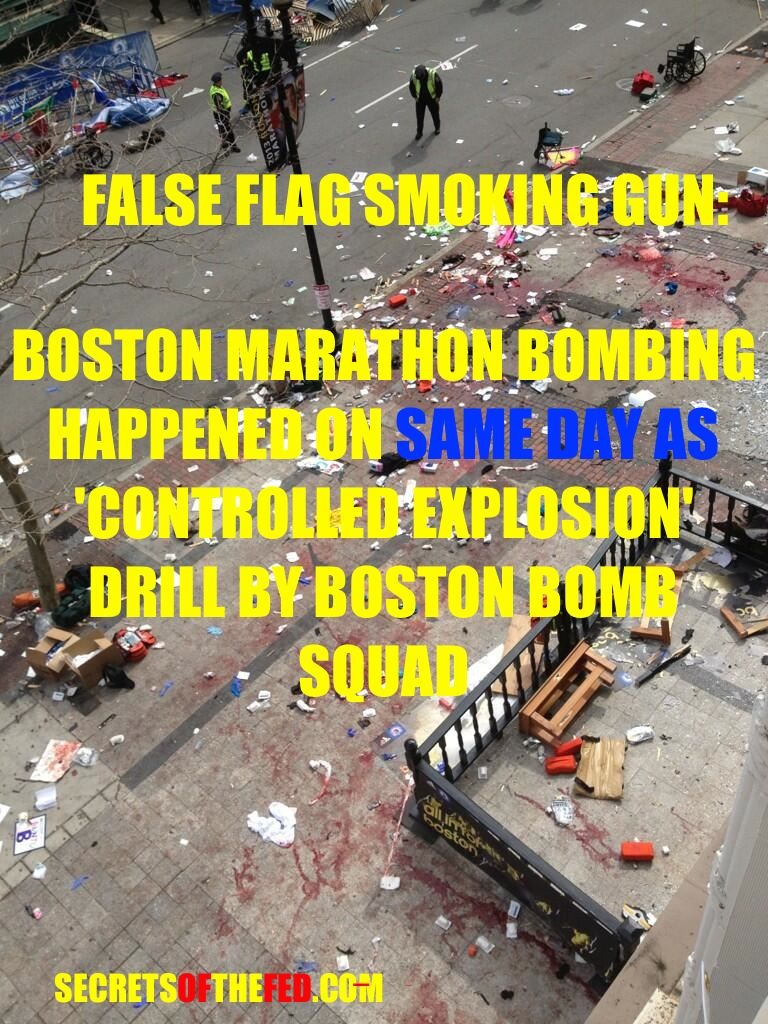 Boston Bombing False Flag