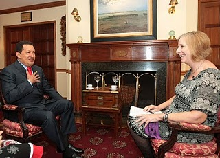 Cindy Sheehan & Hugo Chavez