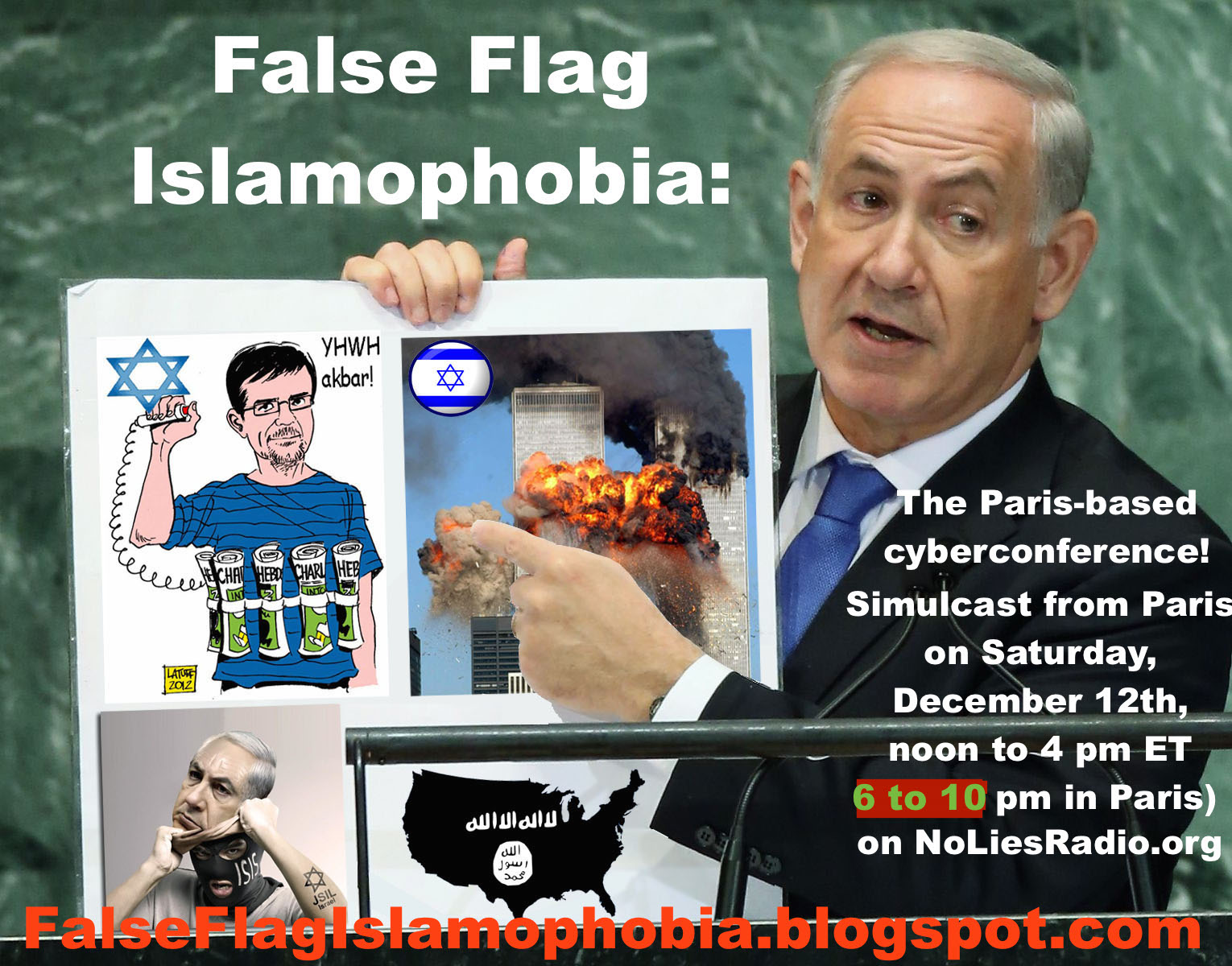 False Flag Islamophobia Conference
