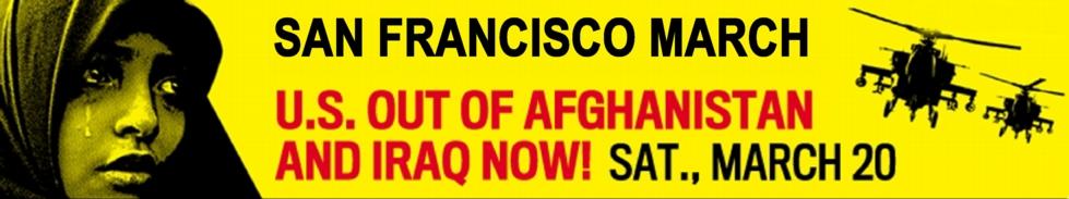 Anti-War March San Francisco
