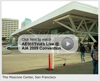 ae911truth at Moscone Center