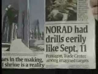Norad drills on 911