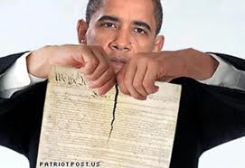 Obama Shreds the Constitution