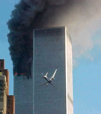 september 11 tower plane hit Now Archived Pacifica Radio 911 Special Broadcast