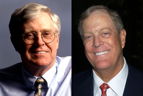 Top ten koch facts no lies radio for David charles koch