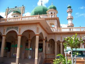 A beautiful Muslim temple. Nakhon Si Thammarat, Thailand.