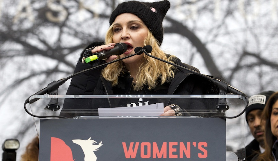 Madonna-Trump-Womens-March