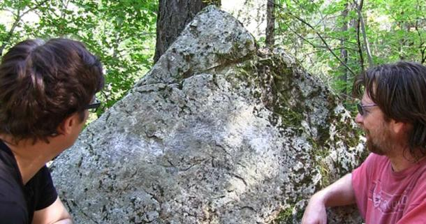 large-triangular-shaped-boulder