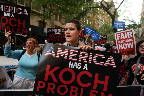 Anti+Koch+Brothers+Protest+Held+Outside+Their+tWqzb9NDRiel