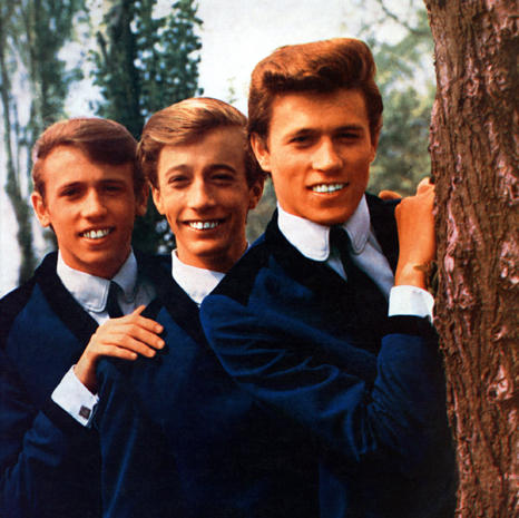 UNSPECIFIED - JANUARY 01: (AUSTRALIA OUT) Photo of BEE GEES posed together in 1964. Left to right: Maurice Gibb, Robin Gibb and Barry Gibb. (Photo by GAB Archive/Redferns)