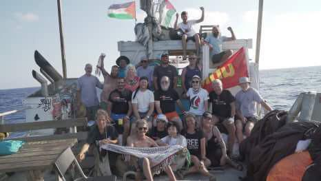 The-participants-approaching-Gaza