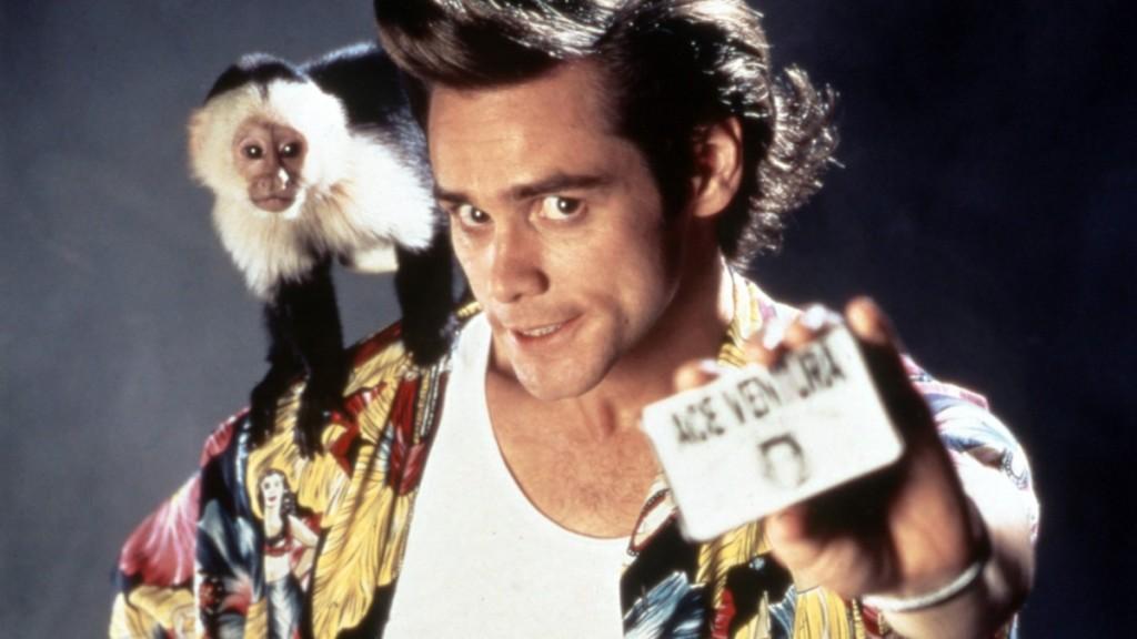 ACE VENTURA: PET DETECTIVE, Jim Carrey, 1994. © Warner Bros./ Courtesy: Everett Collection