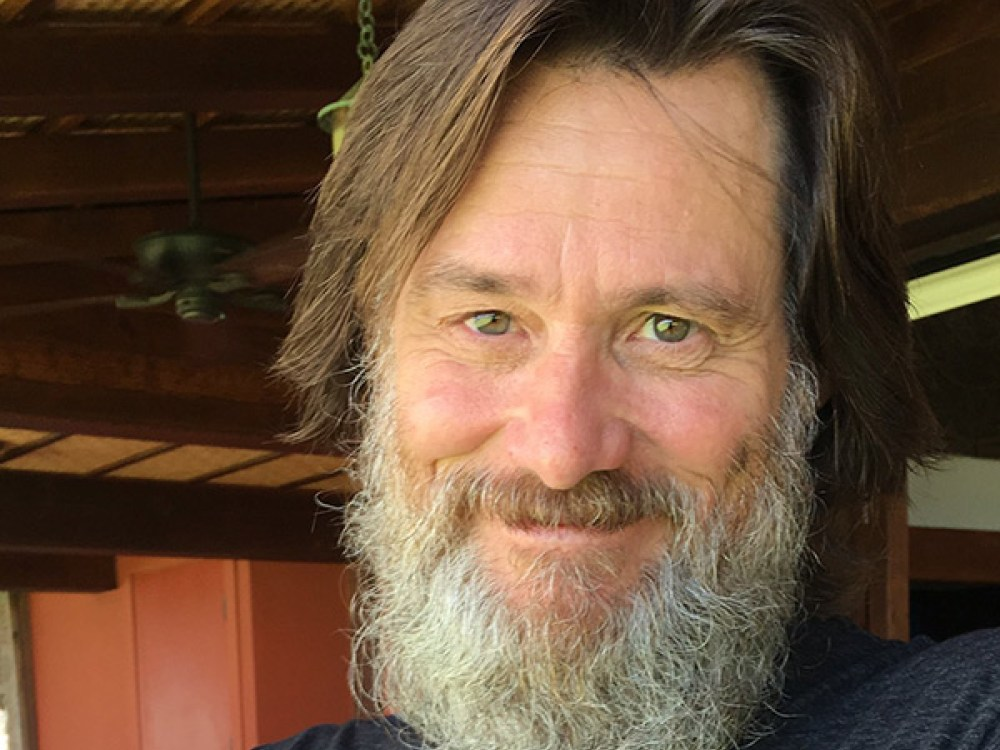 jim-carrey-unrecognizable-beard-selfie-REXShutterstockCourtesy of Instagrameaster-ftr