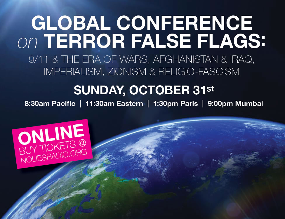 2021 Goblal Conference on Terror False Flags