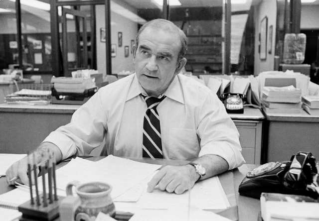 Photo of Ed Asner as Lou Grant