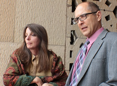 Pam Senzee and Richard Gage, AIA