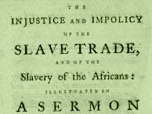 Slavery Servmon